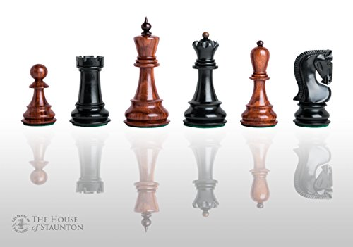 The House of Staunton - The Zagreb Elite Chess Set - Pieces Only - 3.875