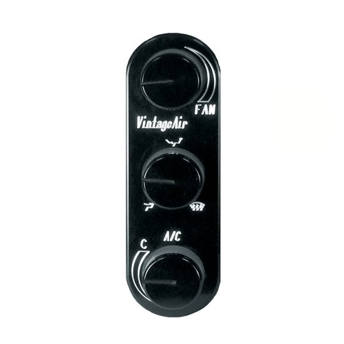 - Vintage Air 491226-RVA Gen IV Black Vertical Control Panel