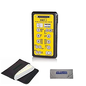 Image of Home Improvements ZTS Multi Battery Tester - ZTS MBT-1 [New 2019 Version] With Pouch & Cleaning Cloth Kit