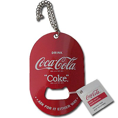Coca-Cola Key Chain Bottle Opener (Coke Bottle Opener Keychain compare prices)
