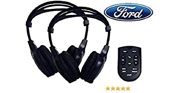 Ford Rear Entertainment Wireless Headsets Headphones DVD