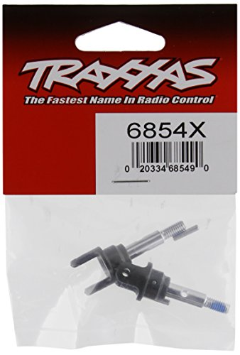 Traxxas 6854X Front Heavy Duty Stub Axles with Pins (pair) (Axle Traxxas Stub)