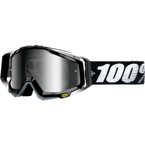 100% The Racecraft Goggle abyss black/anti fog mirror 2016 Goggles