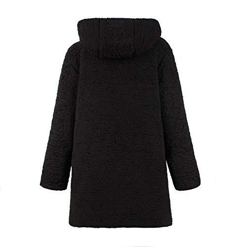 Vicgrey Ecologica Inverno Outwear Invernali Nuova Beige Sintetica Pelliccia Donna Maniche ❤ Giacca Lunghe Cappotto Parka Fqr8FZw