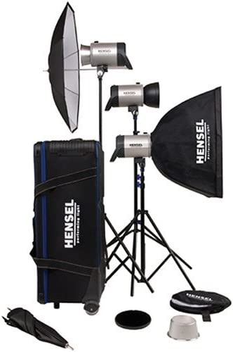 Hensel Integra 500 Super Size Kit with Stands /& Accessories 7338815EN 1500 Total W//s