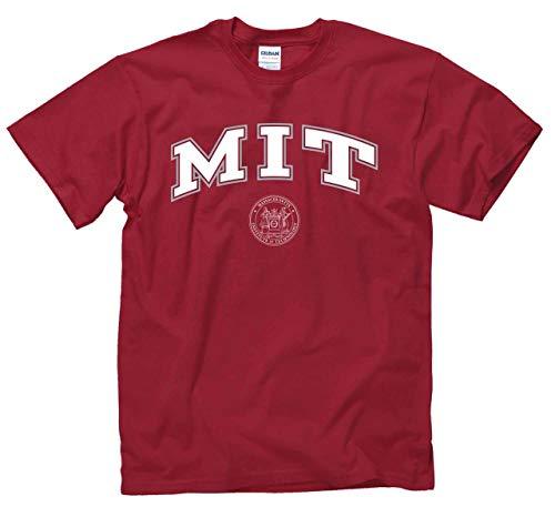 (MIT Engineers Arch & Logo Gameday T-Shirt - Cardinal )