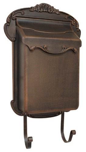 Special Lite Products SVV-1013-CP Victoria Vertical Mailbox, Copper, Full Size