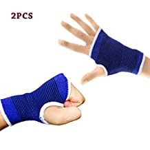 Wrist Support Medium Compression Sleeve with Thumb Palm Carpal Tunnel Brace Splints for Relieved Tendonitis Arthritis Pain