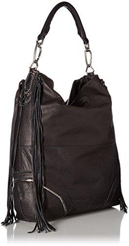 Liebeskind Tokio F7 Bolso de hombro piel 38 cm Schwarz (nairobi Black)