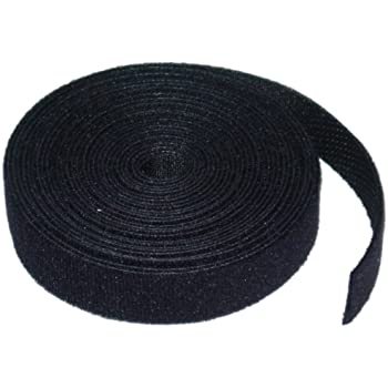 CableWholesale's Hook and Loop Cable Tie Roll, 3/4 inch x 5 yards