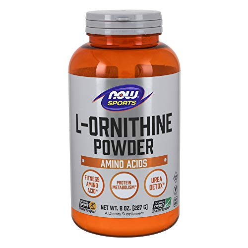 Now Sports Nutrition, L- Ornithine, Amino Acids, 8-Ounce
