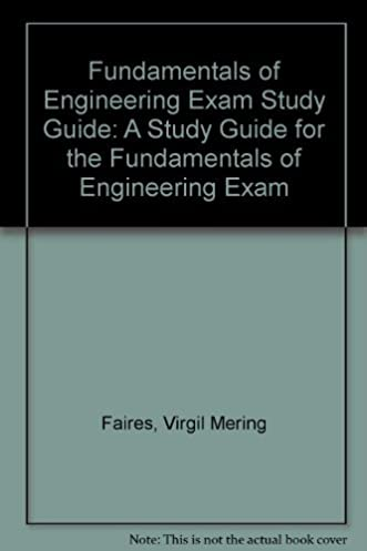 e i t review a study guide for the fundamentals of engineering exam rh amazon com fe exam study guide pdf eit exam study guide free