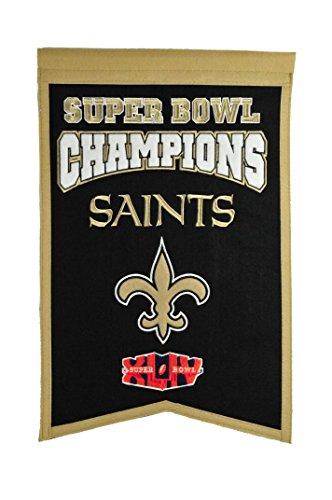 NFL New Orleans Saints Super Bowl Champions Banner