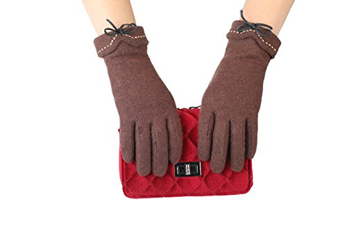 Brown Riding Gloves - 7
