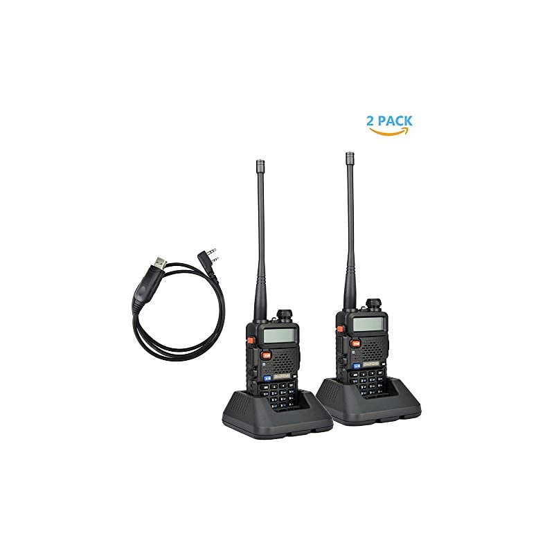 2Pack Baofeng UV-5R Dual-Band 136-174/40
