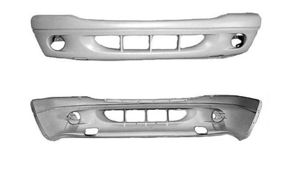 New Bumper Cover for Dodge Dakota CH1000309 2001 to 2004 Front