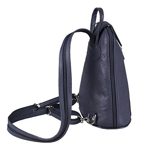 Noir ca 22x23x12 ITALYSHOP24 navy cm femme dos porté BxHxT COM pour Sac noir au Blau à rouge main Ux1qwzU