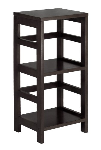 Leo Shelf / Storage, Book, 2-Tier, Narrow - Narrow 2 Section Storage