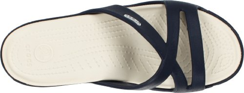 Blue Sandals Women's Navy Crocs Stucco II Patricia qfxpB