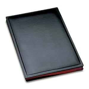 Läufer 34826 Ambiente MONZA - Carpeta para firmas, 24 x 33,5 cm, color negro