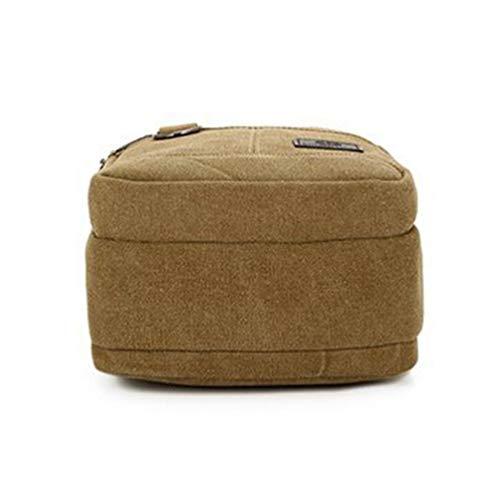 Bag laptoptassen School Work And Khaki Messenger mannen Gekruiste Handtassen Byqny voor Canvas wvq0XRxa