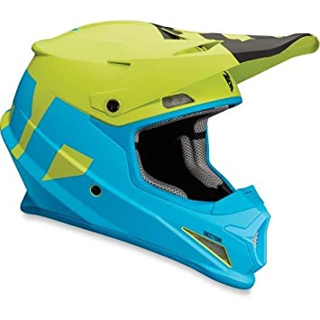 Casco Cross Thor Sector level-bleu/vert-xl-0110 – 5146