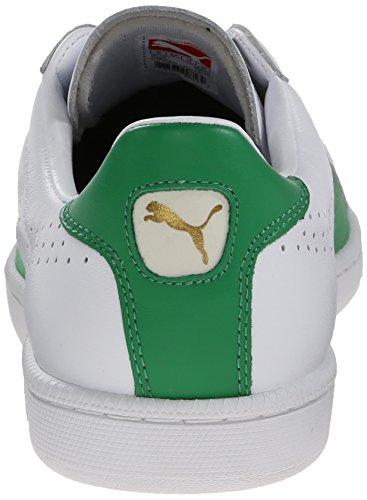 PUMA Mens Match 74 Lace-Up Fashion Sneaker White/Fern Green e1WzvKGh