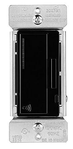 Eaton RF9534DBK ASPIRE 600W RF Incandescent/MLV Smart Dimmer, Black - Quiet Electronic Low Voltage Dimmer