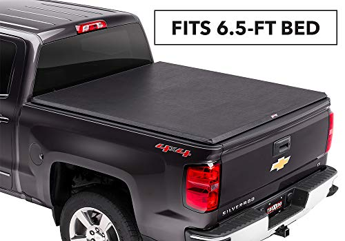 "TruXedo TruXport Soft Roll-up Truck Bed Tonneau Cover | 271101 | fits 2014 GMC Sierra & Chevrolet Silverado 2500/3500 (HD) 6'6"" Bed"