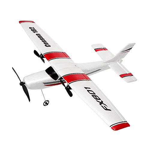 Cheap YSTFLY 2.4GHz 2CH DIY EPP RC Plane Outdoor RTF Ready to Fly Remote Control Gliding Aircraft Model,with 2 extra batteries rc plane