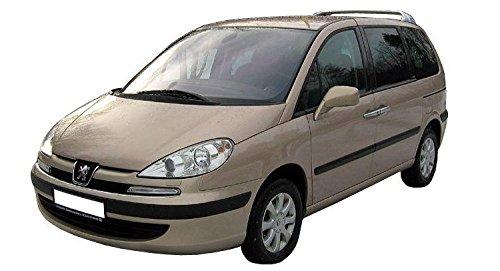 5-Portes Avant et Arriere G 4 pcs D 2002- D/éflecteurs pour Peugeot 807