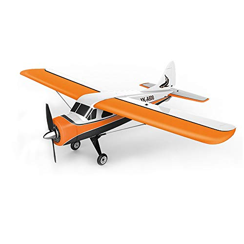 Boomnow XK DHC-2 A600 4CH 2.4G 3D/6G 6G Leveling Mode 3D Stunt Mode Brushless Motor RC Airplane 6 Axis Glider Remote Control Plane Best Gift to Teens (Rc Stunt Planes)