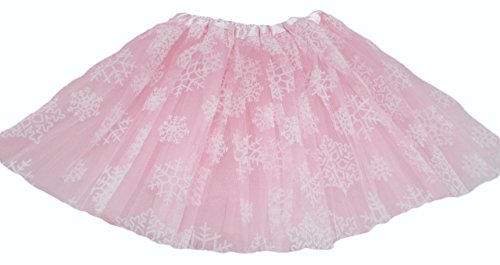 Homemade Dress Up Costumes (Hairbows Unlimited Snowflake Ballet Dance Tutu (Light Pink))