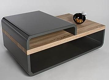 HL Design 01 03 1121 Couchtisch Cinja Korpus Ablage Sanremo Eiche Sand 110