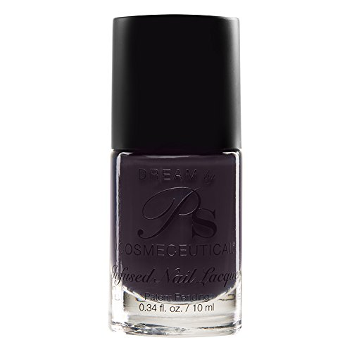 PS Polish All Natural Anti-fungal Nail Polish, Safe Non-Toxic Professional Grade Vegan Nail Polish Lacquer, Best No Chip Polish for Thin, Cracked, Peeling Nails, Manicure, Pedicure (Sugar Plum)