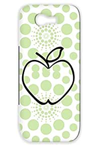 Apfel F1 Black For Sumsang Galaxy Note 2 Shockproof Apple Symbol Tree Vitamins Vegetarian Eat Animals Nature Juice Fruit Vegan Case