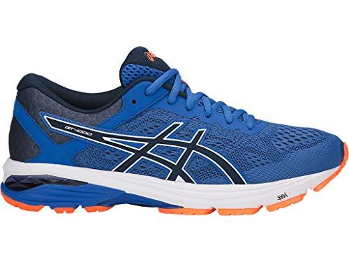 ASICS Men's GT-1000 6 Running Shoes, 11M, Victoria Blue/Dark Blue/SHOCKI