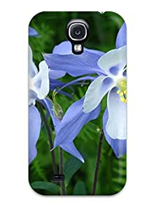 TATIANAE STEVENS's Shop Hot Fashion Protective Columbine Flower Case Cover For Galaxy S4
