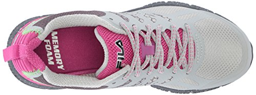 Fila Trail Highrise Red Speedstride Memory Castlerock Shoe Violet Running Women's w1trw