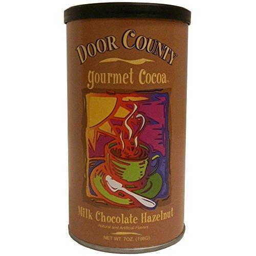 Door County Gourmet Hot Cocoa, Milk Chocolate Hazelnut, 7oz Tin