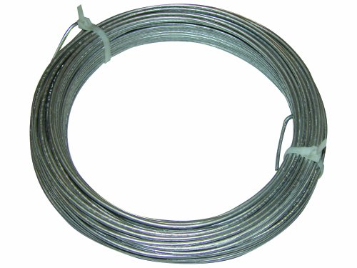 Electric Grounding Fence (Field Guardian Lead Out Wire with 50-Feet Coil of 12.5-Gallon Ground Wire)