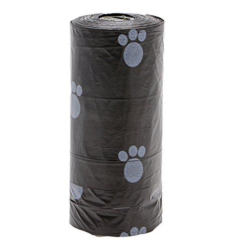 Kofun rollos Pet Poop Bolsas Impresión de caca residuos bolsas de ...