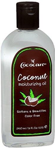 Cococare Coconut Moisturizing Oil 9 Ounce (260ml) (2 Pack)