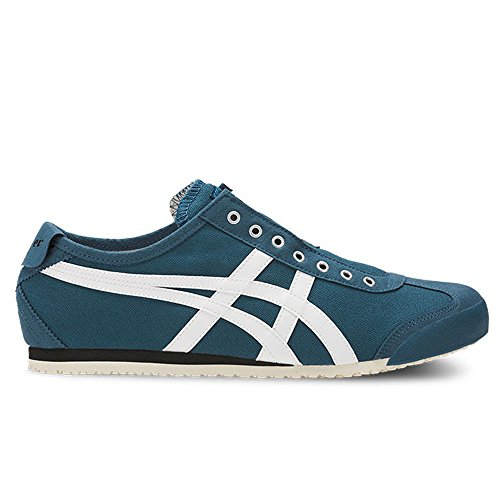 Onitsuka Tiger by Asics Unisex Mexico 66 Slip-On Ink Blue/White Sneaker