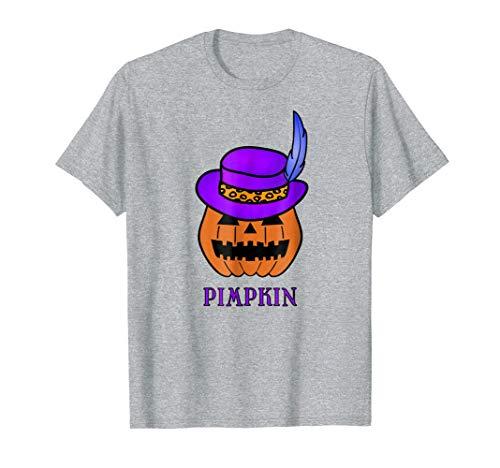 Mens Pimpkin, a Halloween Pimp T-Shirt ()