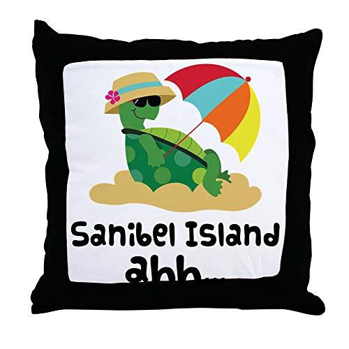 CafePress Sanibel Island Florida Decor Throw Pillow (18