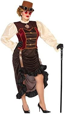Atosa-56498 Disfraz Steampunk, Color marrón, XXL (56498): Amazon ...