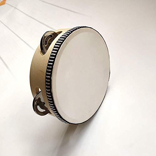 Yevison Children's Percussion Hand Drum Tambourine 7 - Inch 7 Tambourine