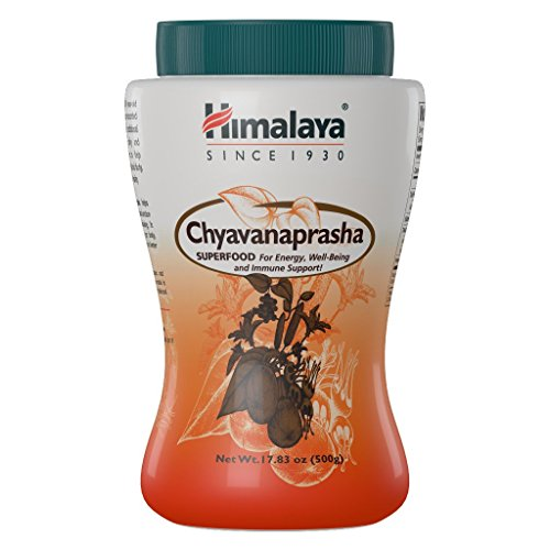 Himalaya Chyavanprash with Honey, Jam,Super Food for Energy, Well-Being and Immune Support 17.83-Oz/500 gm