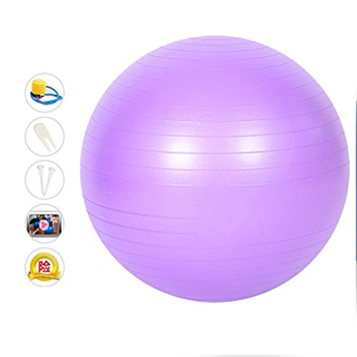 Boule de yoga, givré Épaisseur anti-déflagrant balle de gymnastique Femmes enceintes Boule de départ débutant balle de gymnastique ( Couleur : #3 )
